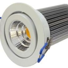 LEDCOB集成天花射灯3w铝壳防水电源可控硅调光厂家批发济南供应批发