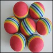 发泡软球/PU玩具球/EVA迷彩球图片