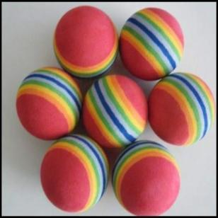 EVA环保玩具海洋球图片