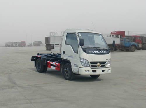 供应小型福田车厢可卸式垃圾车图片