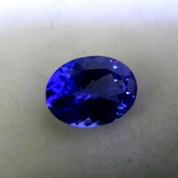 供应8X10MM天然坦桑石双色系宝石 可做戒指 吊坠