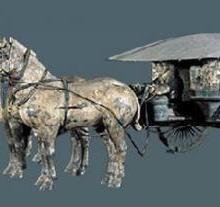 供应西安铜车马纪念品价格,西安铜车马纪念品制作商 陕西特色铜车马纪念品图片