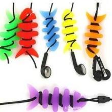 供应硅胶耳机线绕线器