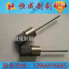 供应磨料丝笔刷铁杆圆形笔刷