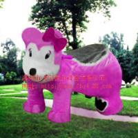 BB熊毛绒动物车
