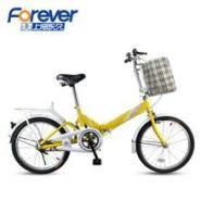 正品永久折叠自行车1620寸成人淑图片