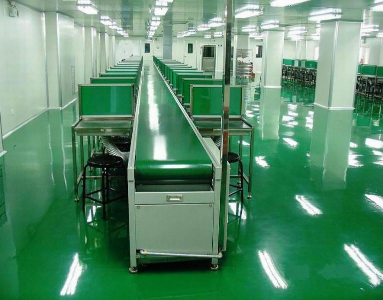 供应PVC皮带流水线图片