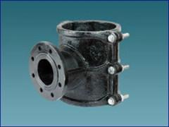 供应分水卡子与钻孔机配套使用分支管道型号100100