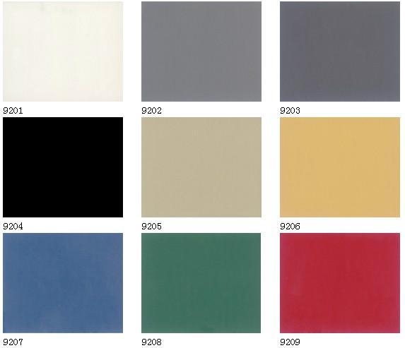 供应纯色PVC地板