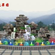 唐县做千层石假山的专业施工图片