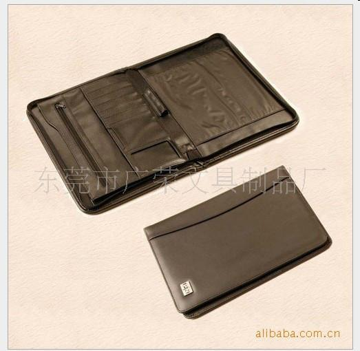 供应PU皮经理夹/相机包/记事本/证件套/护照皮套