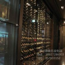 供应会所不锈钢红酒架设计定做加工,会所不锈钢红酒架批发厂家