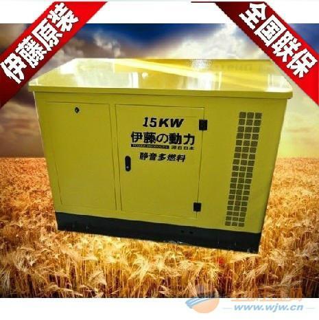 供应15KW汽油发电机图片