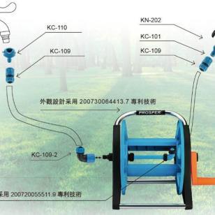 郑州哪里卖花园水管浇花洗车喷枪图片