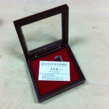 供应金币木盒单只烤漆纪念币木盒
