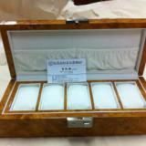 供应木制手表展示盒
