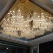 酒店工程水晶吸顶灯图片