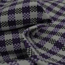 供应方格纺织粗纹编织装饰布沙发的面料批发