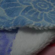 供应珊瑚绒印花浴袍面料
