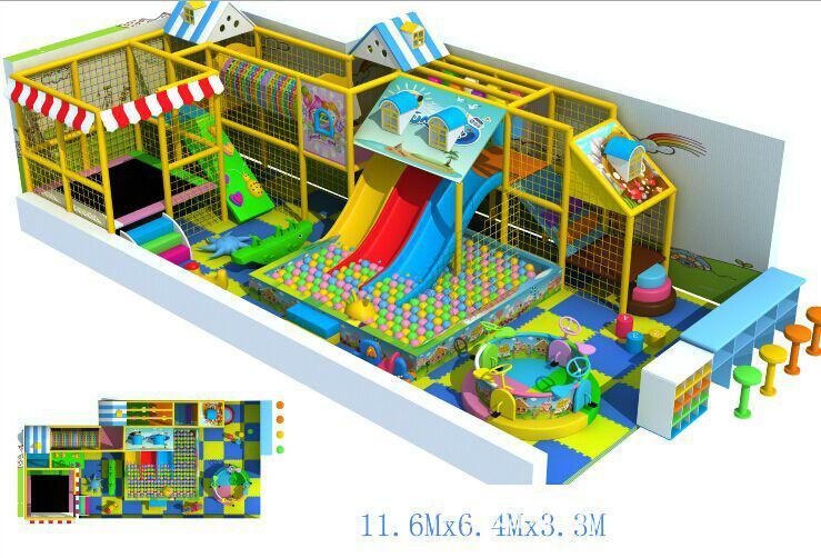 供应新疆省淘气堡儿童乐园图片