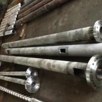 供应塑料挤出机螺杆料筒减速箱舟山吹膜,造粒PVC吹膜