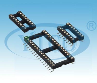 圆孔IC插座图片/圆孔IC插座样板图 (4)