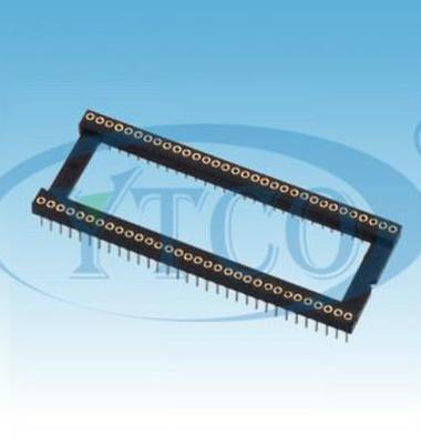 圆孔IC插座图片/圆孔IC插座样板图 (1)