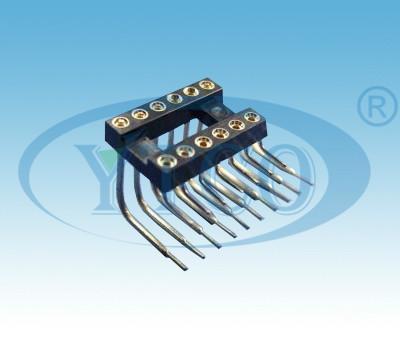 圆孔IC插座图片/圆孔IC插座样板图 (2)
