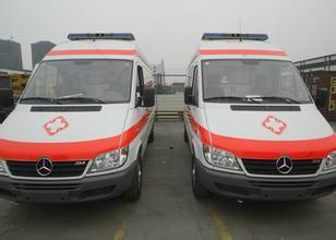 供应北京海淀区救护车出租图片