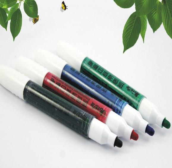 环保液体白板笔,直液体白板笔,可加墨水循环使用白板笔