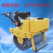 手扶单轮重型汽油压路机图片