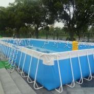 亚图卓凡厂家直销大型支架充气泳池图片