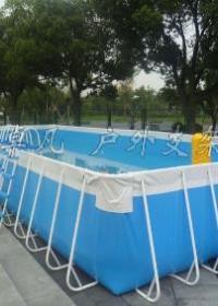 供应可移动大型支架泳池儿童水上游乐园厂家直销
