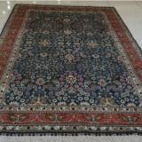 供应中式素雅清新手工打结编织真丝地毯