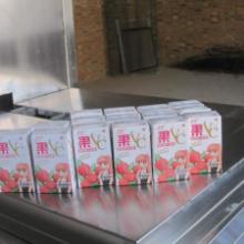 供应南宁果汁牛奶纸盒砖型包装机,自动新型牛奶纸盒砖型包装机国内价最低图片