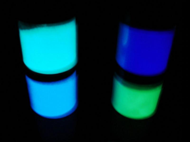 供应陕西涂料专用发光粉印花专用发光粉塑料表面处理专用发光粉