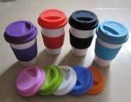 日照市陶瓷杯硅胶盖经销商图片