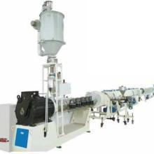 供应HDPE燃气管节能高速设备厂家卖首选上海金纬机械品牌,PE供排水管节能高速挤出生产线批发