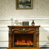 供应FS-T266红木色壁炉象牙白壁炉_家用壁炉_家居壁炉_装饰壁炉