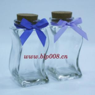 S型摆设玻璃瓶图片