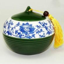 供应陶瓷药罐加工厂,景德镇颜色釉陶瓷罐子,批发陶瓷罐子