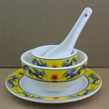供应元旦晚会庆典纪念套装碗,定做陶瓷碗,景德镇瓷碗批发