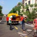 山西清洗市政管道-清理淤泥图片