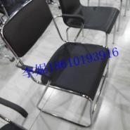 河北胜芳带扶手电镀办公椅图片
