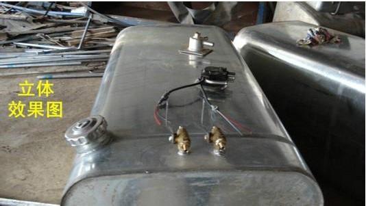汽车水加热油箱样板图 汽车水加热油箱 恒兴暖风机配件 -供应汽车水高清图片