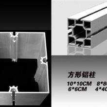 供应标摊铝材 40方柱 80方柱 100方柱 特装展位方柱图片
