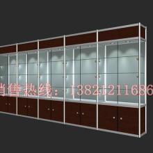 供应饰品展示柜 天津精品货架 钛合金展柜 产品展示架 展会展柜图片
