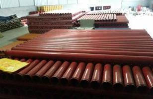 地泵管/3米耐磨管/超耐磨臂架管图片