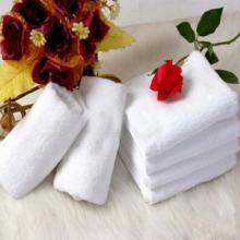 供应厂家直销纯棉100克白毛巾批发