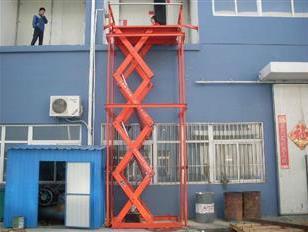 钢剪叉升降机大台面工作平台图片